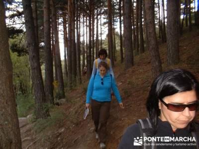 Cascadas del Purgatorio - Rutas Senderismo; rutas de la pedriza; excursiones comunidad de madrid
